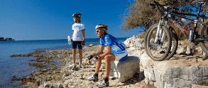 Udfordrende cykelruter på Istrien