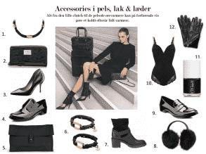 Forførende accessories i pels, lak & læder