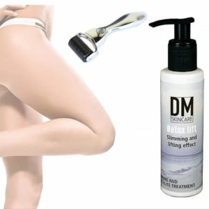Dermaroller inc Detox and lifting creme mod strækmærker og cellulite